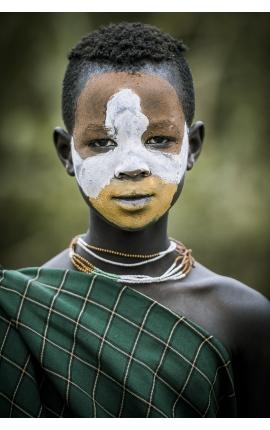 Surma Painting 04 - Photographie d'art en Ethiopie