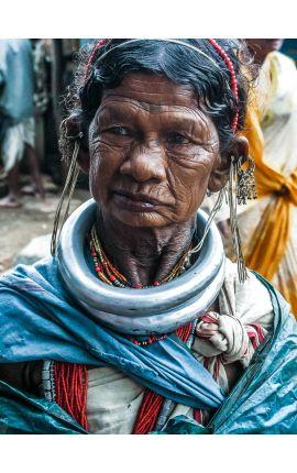 Peuple de la terre 12 - Photographie de portrait tirage en édition limitée