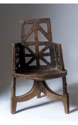 ETHOPIE - Objet d'art africain - Chaise Oromo 01