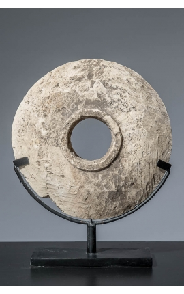 Océanie - Disque Bi en pierre 01