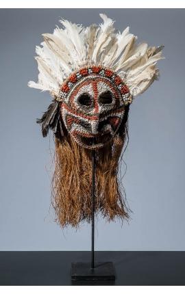 OCEANIE - Masque océanien Irian Jaya - Papouasie 01