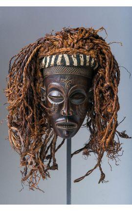 CONGO - Masque africain Tchokwe 02 - Achat Objet de décoration Masque