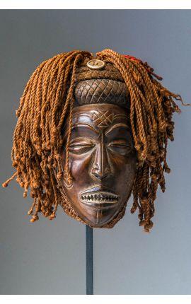 CONGO - Masque africain Tchokwe 03