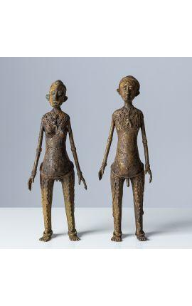AFRIQUE Burkina Faso - Lobi Sculpture en bronze 01
