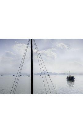 Baie d'Ha Long 02 - VIETNAM - Edition limitée, tirage couleur grand format- Nature