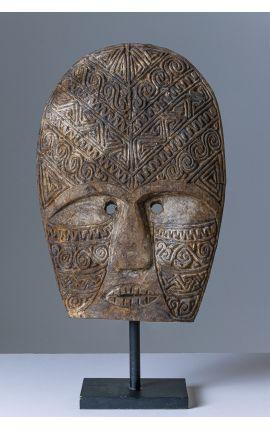 OCEANIE - Timor Masque en bois - Décoration 02 - édition limitée
