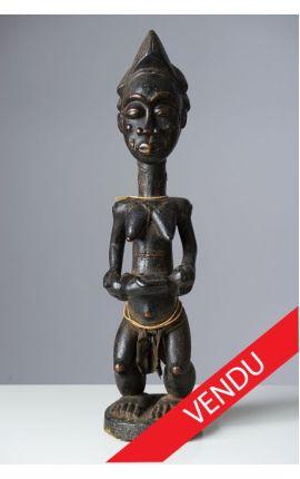 AFRIQUE - COTE D'IVOIRE Statue Baoulé 02
