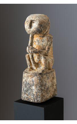 OCEANIE - Indonésie Timor Statuette - Sculpture en bois 05