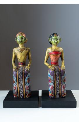 OCEANIE - Indonésie Timor Statuette - Sculpture en bois 03