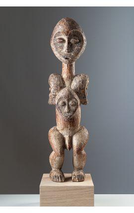 AFRIQUE - RD CONGO - Statuette Lega 01 ART AFRICAIN - ARTS PREMIERS
