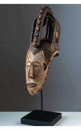 Masque africain, art tribal - NIGERIA - Masque facial IGBO - ARTS PREMIERS PRIMITIF