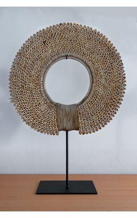 OCEANIE - Collier Ras de Cou coquillages art tribal océanien