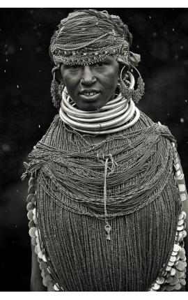 Inde Ourissa 6349 - Achat portrait, photo en édition limitée