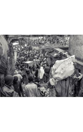 Fardeau d'une vie 01 - Photo d'art en Edition limitée, Ethiopie