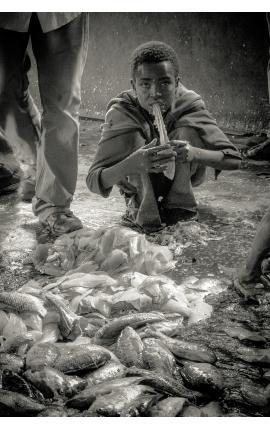Fardeau d'une vie 04 - Peuple autochtones Photographie