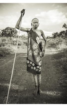 Omo Valley 02 - Achat Photographie ethnologique de collection de Daniel Vuillemin