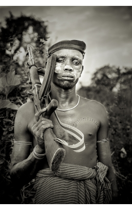Omo Valley 07 - Photo d'art  photographie ethnologique