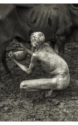 Omo Valley 12 - Photographie d'art contemporaine à acheter