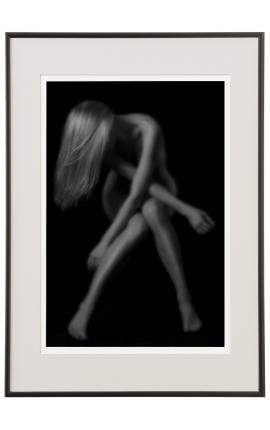 Intimité 02 - Photo d'art en noir et blanc nu - Daniel Vuillemin