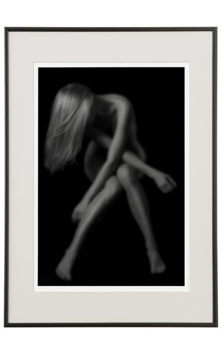 Intimité 02 Achat photo d'art en noir et blanc de nu féminin