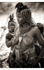 Himba Tribal 02 - Photographie d'art en Namibie