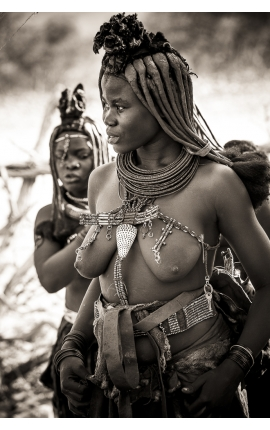 Himba Tribal 02 - Photographie d'art en Namibie
