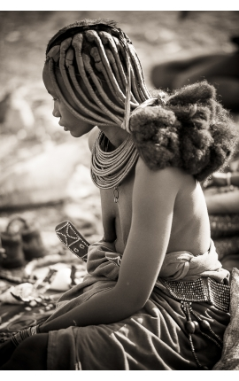Himba Tribal 12 - Photographie d'art en Namibie