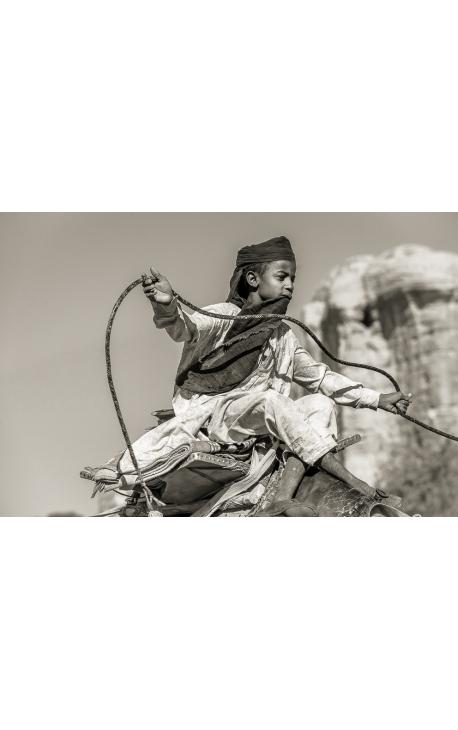 Toubou 07 - Photographie désert de l'Ennedi Tachd