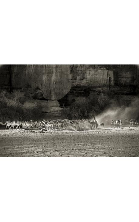 Toubou 19 - photographie grand format Desert